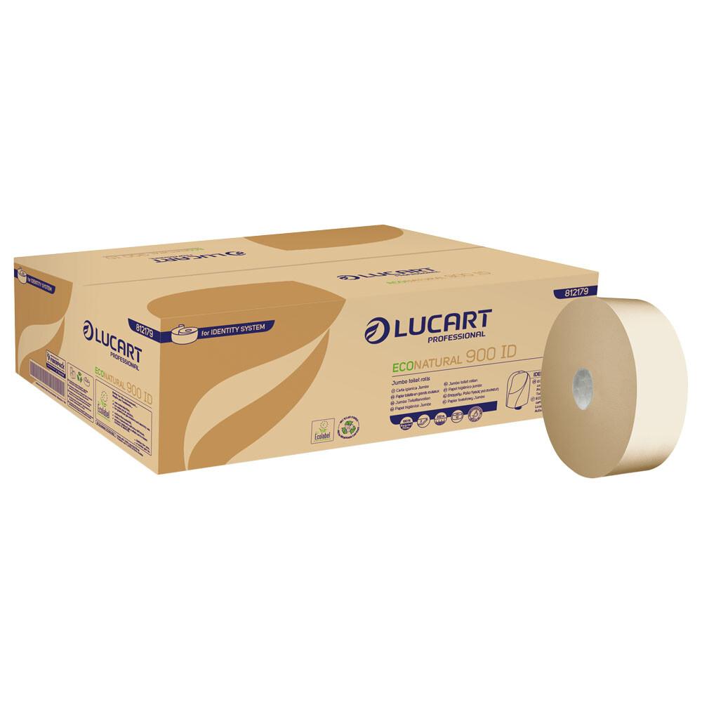 Fiberpack Lucart Professional 24 Rollen Toilettenpapier Klopapier 3lagig TOP !